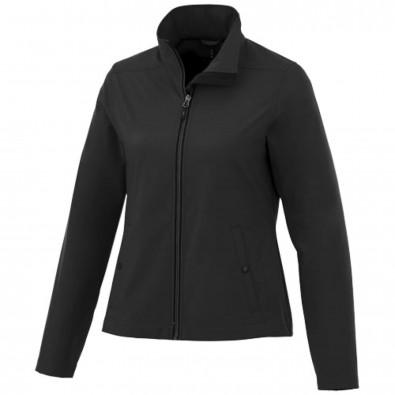 Karmine White Label Softshelljacke für Damen, schwarz, XL