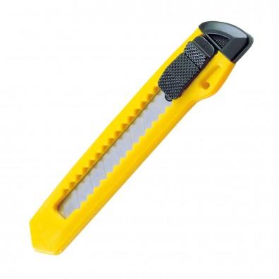 Kartonmesser aus Kunststoff, gelb