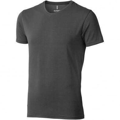 ELEVATE Herren Öko T-Shirt Kawartha, anthrazit, M