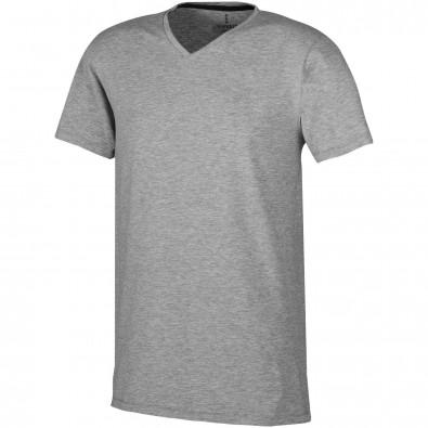 ELEVATE Herren Öko T-Shirt Kawartha, grau meliert, XS