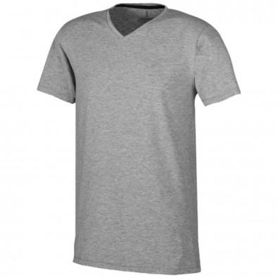 Kawartha – Öko-T-Shirt für Herren, grau meliert, XS