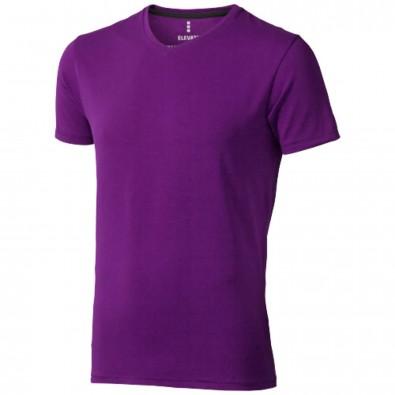 Kawartha – Öko-T-Shirt für Herren, pflaume, M