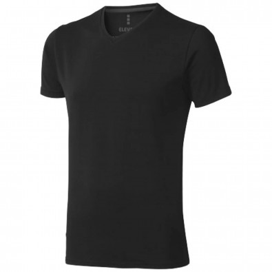 Kawartha Öko T-Shirt für Herren, schwarz, S