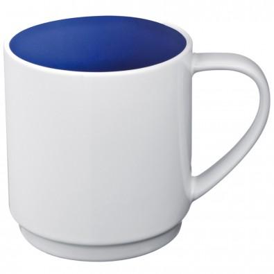 Keramiktasse Lockport,blau