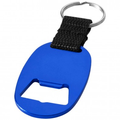 Keta Schlüsselanhänger mit Flaschenöffner, royalblau