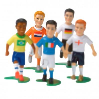 """KICK & FUN """"Verteidiger"""" 8 cm ohne Ball, orange/weiß"""