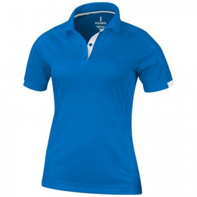 Kiso – Poloshirt cool fit für Damen, blau, M