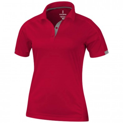 Kiso – Poloshirt cool fit für Damen rot | XS