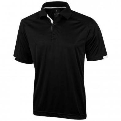 Kiso Poloshirt cool fit für Herren schwarz | XL