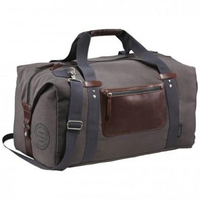 Klassische Reisetasche, grau