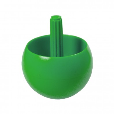 Kreisel Stehauf klein, standard-grün