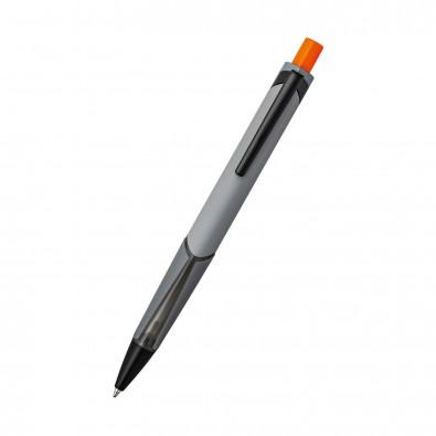 Kugelschreiber CLIC CLAC-BÉZIERS, grau