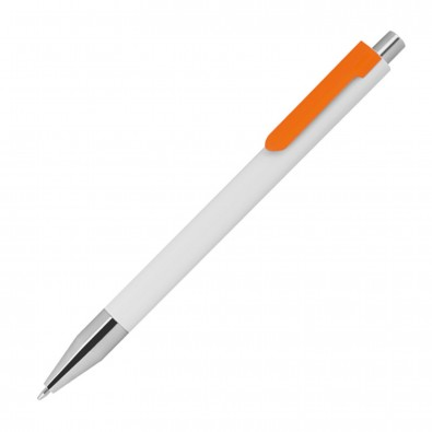 Kunststoffkugelschreiber, orange