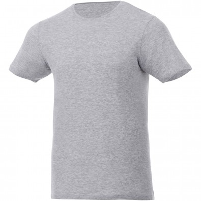 Kurzärmeliges T-Shirt, Finney, heather grau, XXL