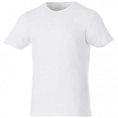 Kurzärmeliges T-Shirt, Finney weiss | S