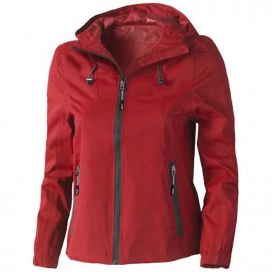 Labrador Damen Jacke mit Kapuze, rot, XL