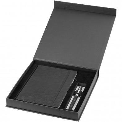 Lace A5 Notizbuch und Stift Geschenkset, schwarz