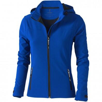 Langley Damen Softshell Jacke, blau, L