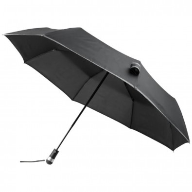 LED Light Handle AOC Umbrella, schwarz