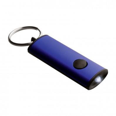 LED Schlüsselanhänger BAENA blau