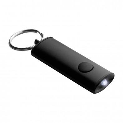 LED Schlüsselanhänger BAENA schwarz