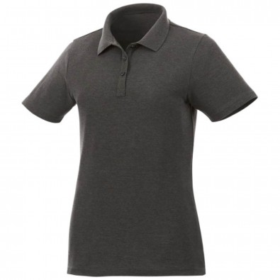 Liberty Private Label Poloshirt für Damen, kohle, M