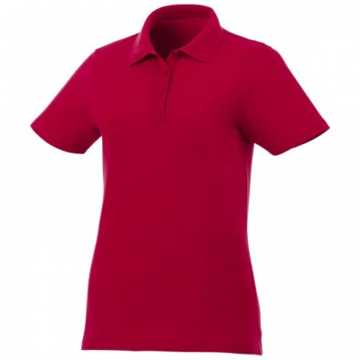 Liberty Private Label Poloshirt für Damen, rot, S