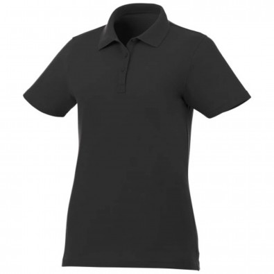 Liberty Private Label Poloshirt für Damen, schwarz, S