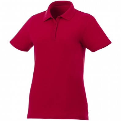 Liberty Private Label Poloshirt für Damen, rot, S