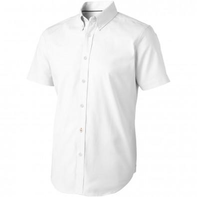 Manitoba kurzärmliges Hemd, weiß, XS