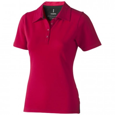 Markham – Stretch-Poloshirt für Damen, rot, XXL