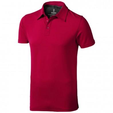 Markham – Stretch-Poloshirt für Herren, rot, XXL