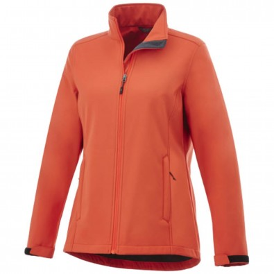 Maxson Softshelljacke für Damen, orange, M