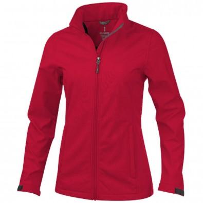 Maxson Damen Softshell Jacke, rot, XS