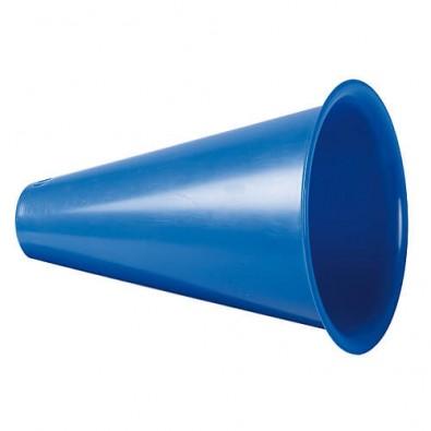 Megaphon Fan Horn standard-blau PP