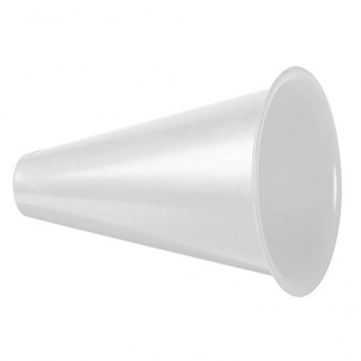 Megaphon Fan Horn weiß