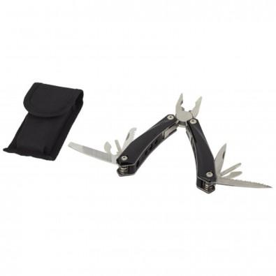 Mehrzweck-Werkzeug mit 13 Funktionen, schwarz
