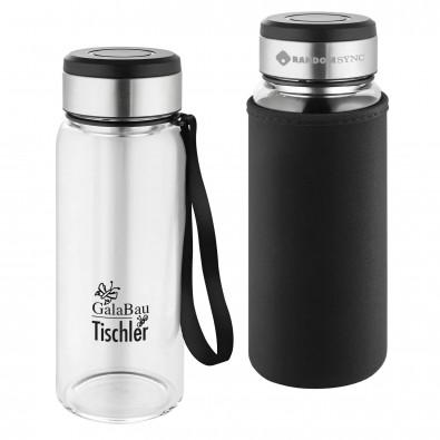 Thermo Wasserflasche mit Sieb