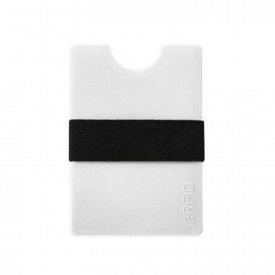 Mini-Portemonnaie iWallet Compact, Weiß