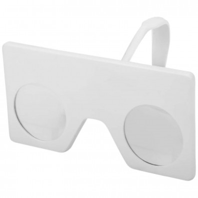 Mini Virtual Reality Brille mit Clip, weiss