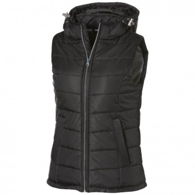 Mixed Doubles Thermo–Bodywarmer für Damen, schwarz, XXL