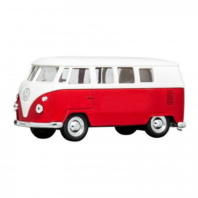 Modellauto VW T1 1:38, rot