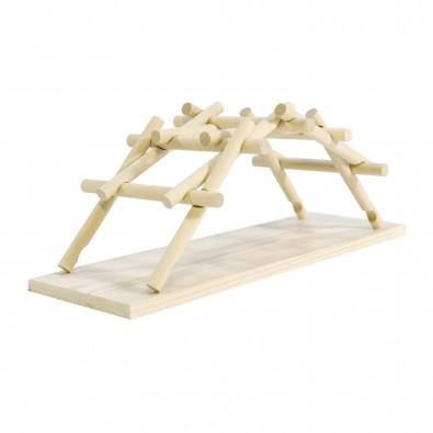 Modellbausatz LEONARDO DA VINCI BRIDGE