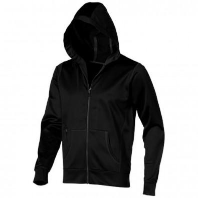 Moresby Trainingsjacke mit Kapuze schwarz | XS