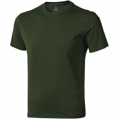 ELEVATE Herren T-Shirt Nanaimo, armeegrün, XXXL