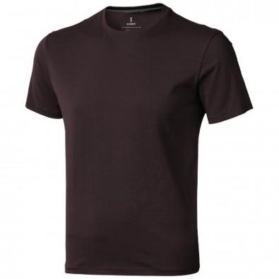 Nanaimo – T-Shirt für Herren, Chocolate Brown, S