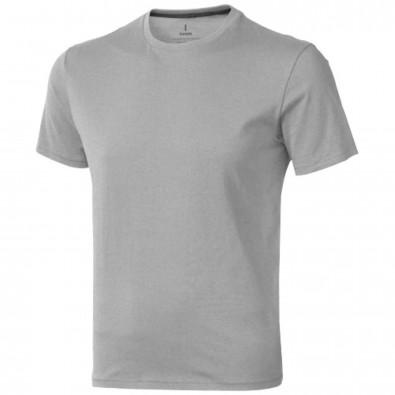 Nanaimo – T-Shirt für Herren, grau meliert, XS
