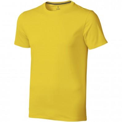 Nanaimo T-Shirt für Herren, gelb, M