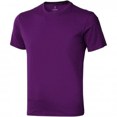Nanaimo T-Shirt für Herren, pflaume, XL
