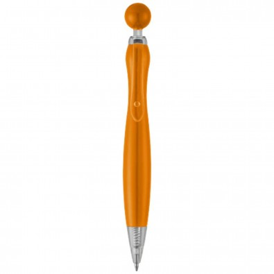 Naples Kugelschreiber, schwarze Mine, orange
